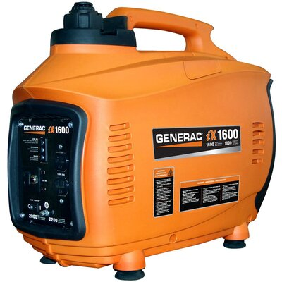 Generac 1600 Watt Gas Inverter Generator