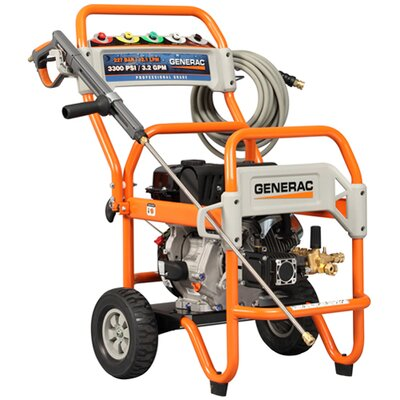 Generac 3500 PSI / 3.2 GPM Gas Powered Pressure Washer
