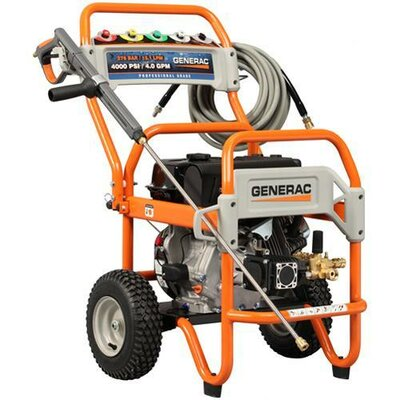 4000 PSI / 4 GPM Gas Powered Pressure Washer