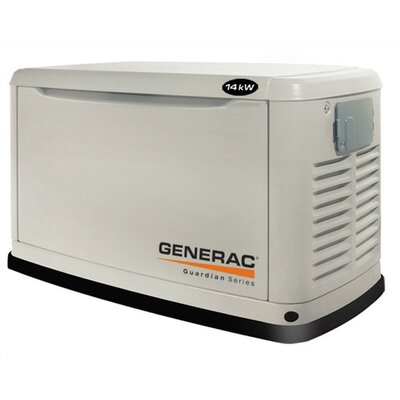 14 Kw Air-Cooled Single Phase 120/140 V Standby Generator - 6247