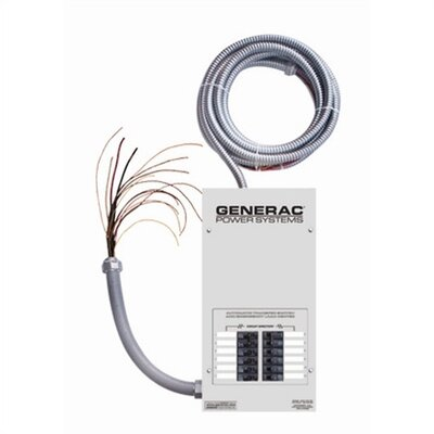 Generac 14- Circuit Transfer Switch w/ Load Center
