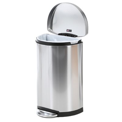 simplehuman 10.5-Gal. Semi Trash Can