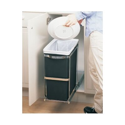 simplehuman 7.92-Gal. Pull Out Trash Can