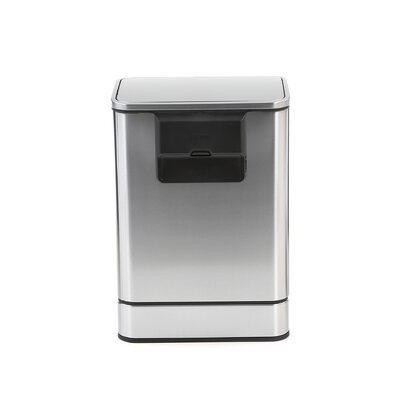 simplehuman Sensor Trash Can in Brushed Stainless Steel