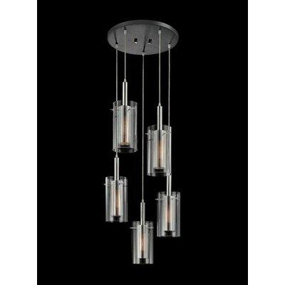 Sonneman Zylinder 5 Light Pendant