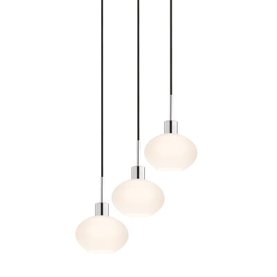 Sonneman 3 Light Demi Pendant