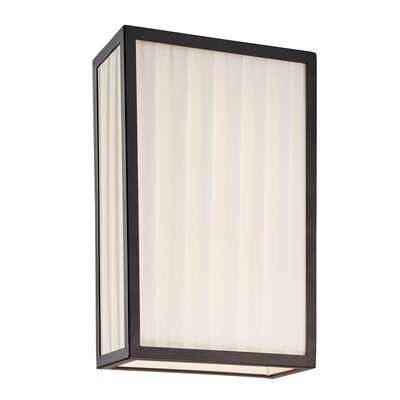 Sonneman Piega Vertical 2 Light Wall Sconce