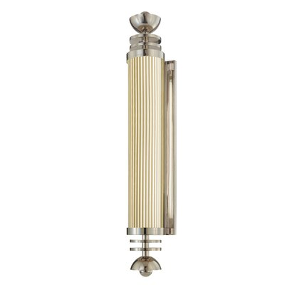 Sonneman Demi-Cylindre E'Tape One Light ADA Wall Sconce