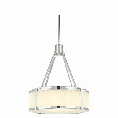 Sonneman Roxy 4 Light Drum Pendant