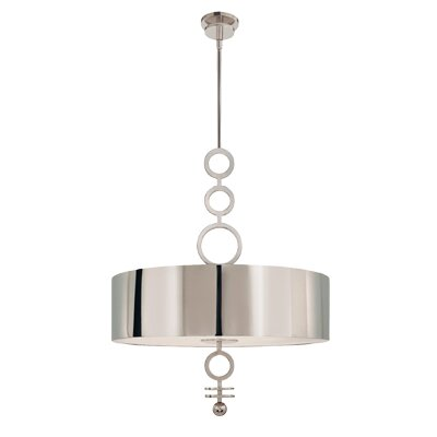 Dianelli 6 Light Drum Pendant
