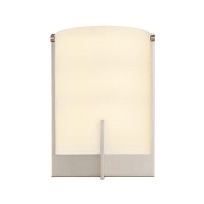 "Sonneman Arc Edge 9"" One Light Wall Sconce"