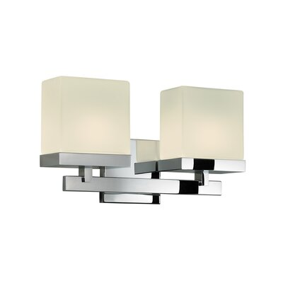 Sonneman Cubist 2 Light Wall Sconce