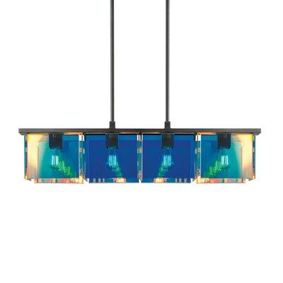Sonneman Dichroix 4 Light Pendant