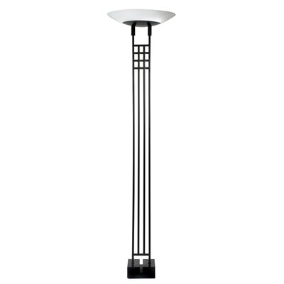 Sonneman Mack 2 Light Torchiere Floor Lamp