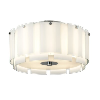 Sonneman Velo 4 Light Flush Mount