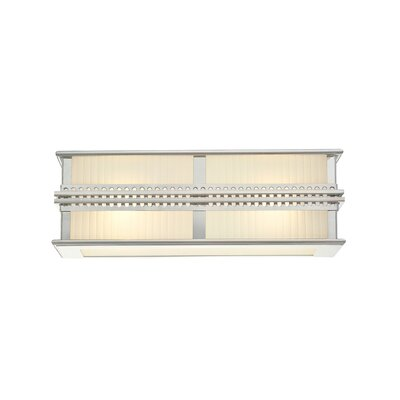 Sonneman Shanghai Vanity Light in Polished Nickel