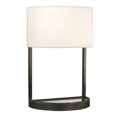 "Sonneman Hemi 20"" H Table Lamp with Drum Shade"