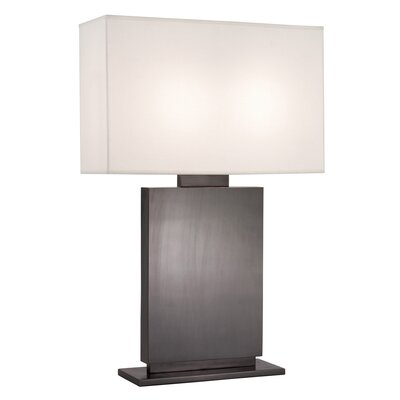 "Sonneman Plinth High 33.5"" H Table Lamp with Rectangle Shade"