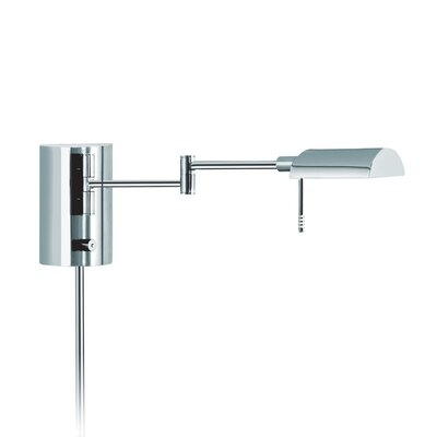 Sonneman D Lite One Light Wall Lamp in Polished Chrome