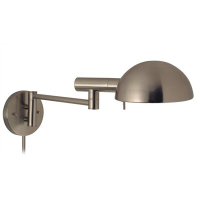 Sonneman Dome Swing Arm Wall Sconce