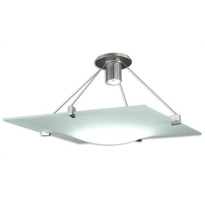 Sonneman Handkerchief 1 Light Large Semi Flush Mount