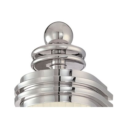 Sonneman Shanghai Wall Sconce in Polished Nickel