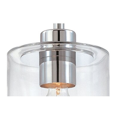 Sonneman Transparence 1 Light Mini Pendant