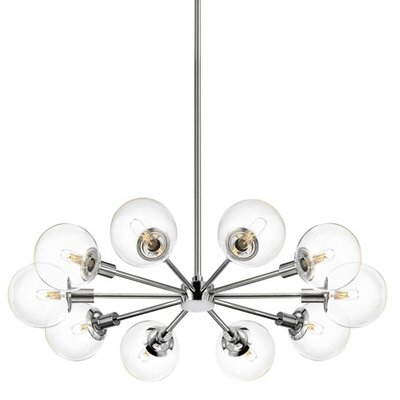 Sonneman Orb 10 Light Radial Pendant