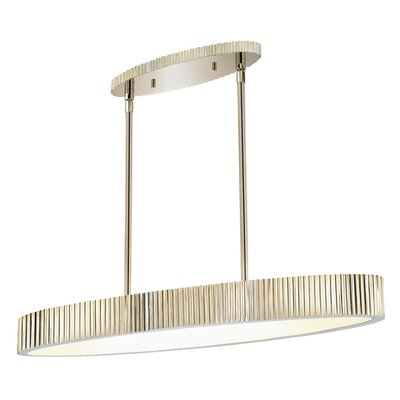 Sonneman Paramount 6 Light Oval Drum Pendant