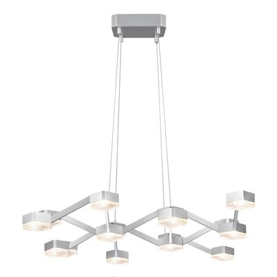 Lattice 16 Light Pendant