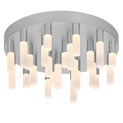 Sonneman Staccato 24 Light Flush Mount