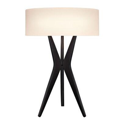 "Sonneman Bel Air 27"" H Table Lamp with Drum Shade"