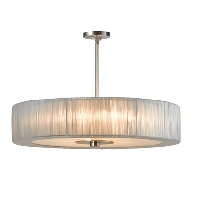 Sonneman Organza Wrap 6 Light Pendant