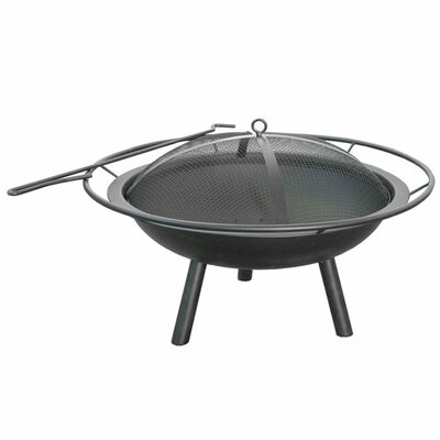 Landmann Halo Fire Pit Bowl with Ring and Poker