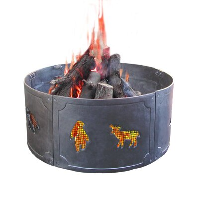 Big Sky Wildlife Fire Ring
