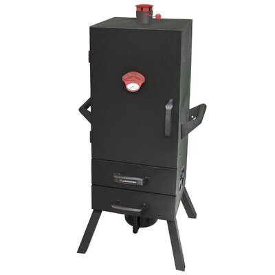 Smoky Mountain Two Drawer Easy Access Vertical Charcoal Smoker