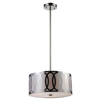 Elk Lighting Anastasia 3 Light Drum Pendant