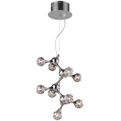 Elk Lighting Molecular 9 Light Chandelier