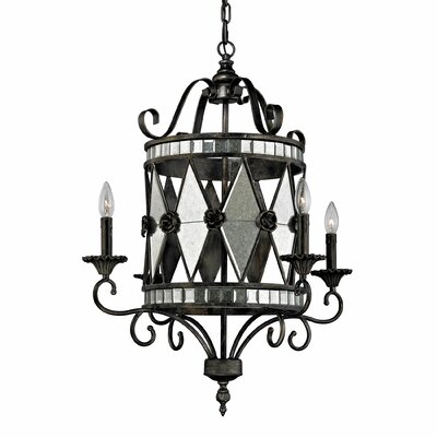 Mariana 4 Light Candle Chandelier