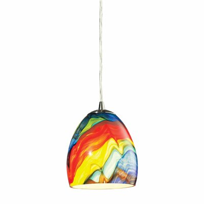 Elk Lighting Colorwave 1 Light Mini Pendant