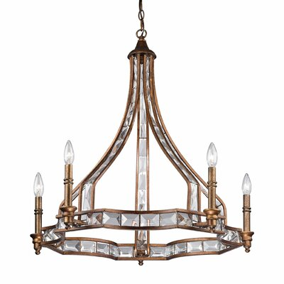 Montclare 5 Light Candle Chandelier