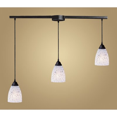 Elk Lighting Classico 3 Light Linear Pendant