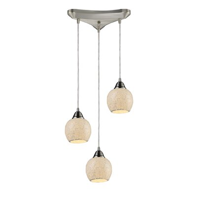 Elk Lighting Fission 3 Light Pendant