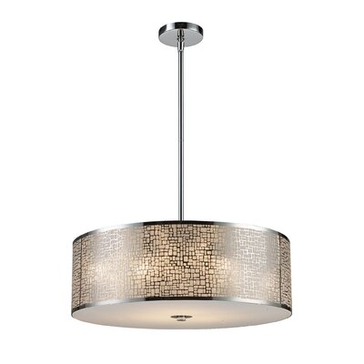 Elk Lighting Medina 5 Light Drum Pendant