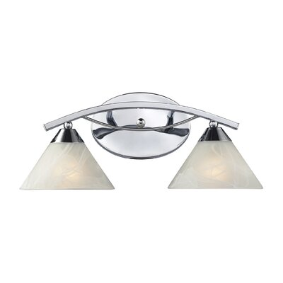 Elk Lighting Elysburg 2 Light Bathroom Vanity Light