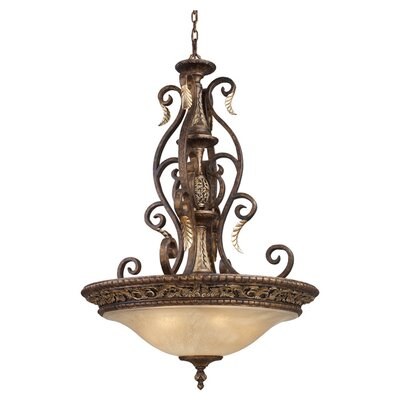 Elk Lighting Trump Home Regency 5 Light Inverted Pendant