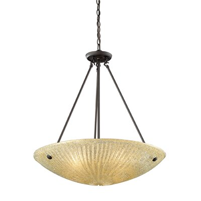 Elk Lighting Luminese 4 Light Inverted Pendant