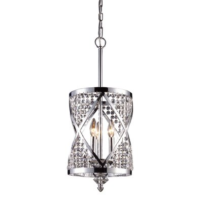 Crystoria 3 Light Chandelier