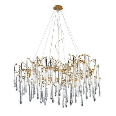 Veubronze 15 Light Chandelier