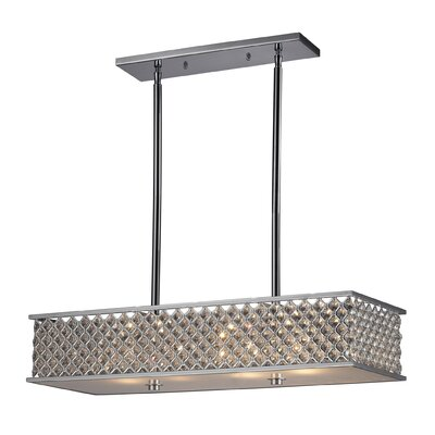 Elk Lighting Freeport 4 Light Kitchen Island Pendant